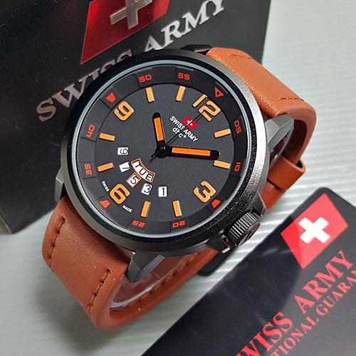 193 jam tangan pria - cowok swiss army se1120 original