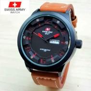 Jam Tangan Pria Swiss Army SA1680 Leather