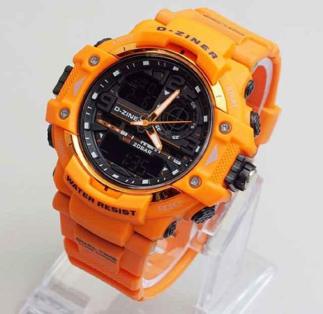 414 jam tangan pria - cowok d-ziner original dz620 rub