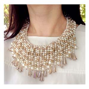 Kalung Pearl Goldy Flare