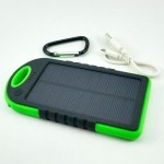 Powerbank Solar Cell + LED Torch