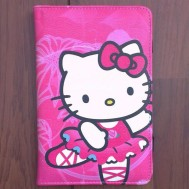 Cover Tablet Hello Kitty Flowers