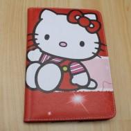 Leather Case Hello Kitty merah