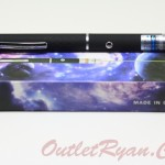Purple Beam Laser Pointer Ungu Pen Bolpen Presentasi Stylus