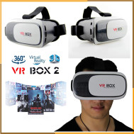 VR Box 2 Cardboard Virtual Reality Glasses